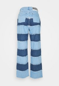 The Ragged Priest - STRIPE PANEL DAD  - Jeans straight leg - blue - 1