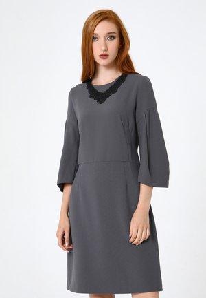 VERGINI - Day dress - dunkelgrau