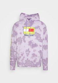 Tommy Jeans - ABO TJU X SPONGEBOB HOODIE UNISEX - Sweatshirt - purple quartz - 5