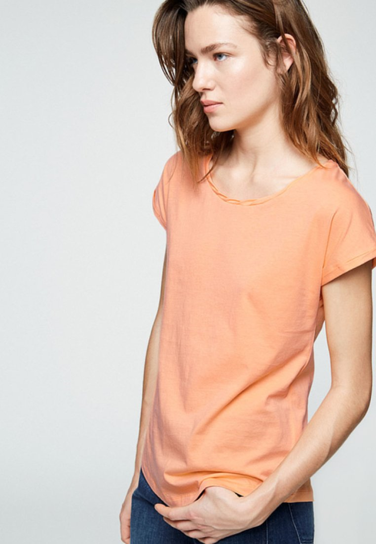 ARMEDANGELS - LAALE - Basic T-shirt - sweet peach
