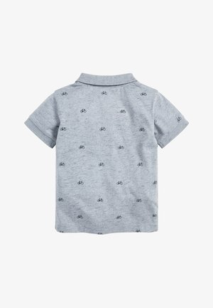BLUE SHORT SLEEVE PRINTED BIKE POLO (3MTHS-7YRS) - Poloshirt - blue