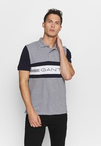 GANT - Polo shirt - grey melange - 0