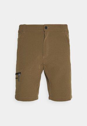 BERWYN - Sports shorts - chocolate brown