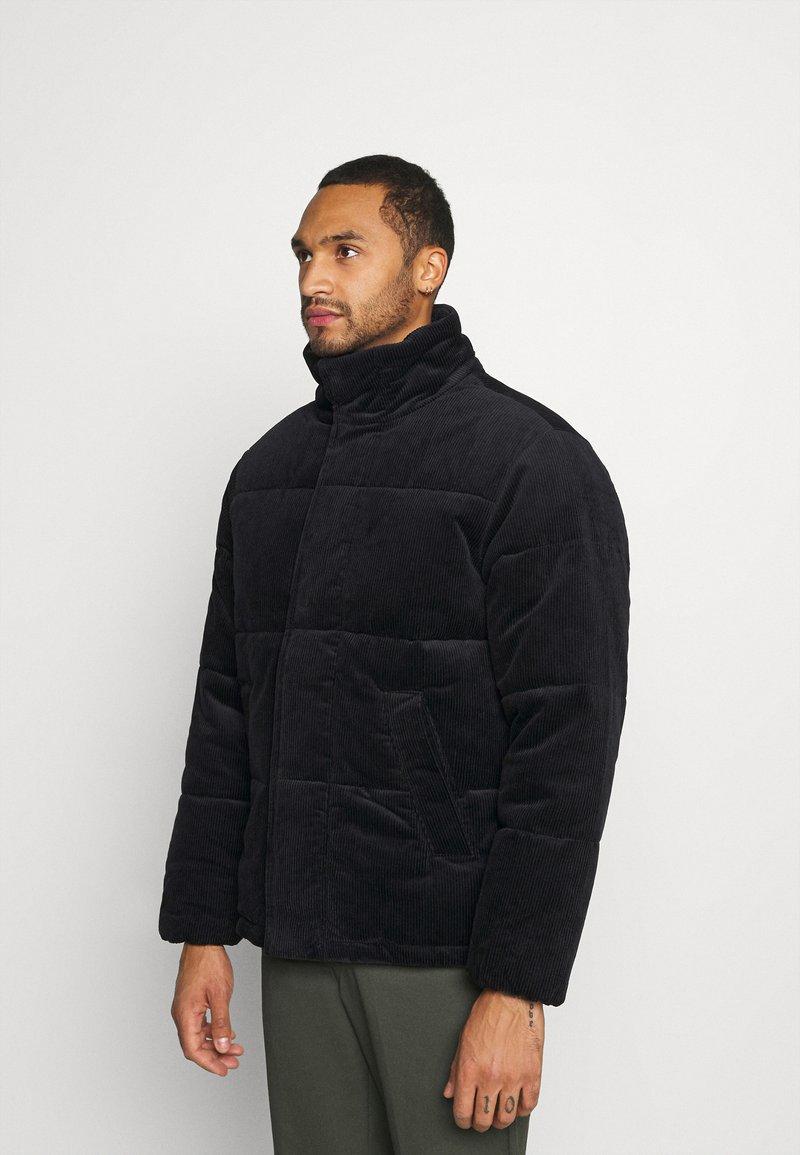 Topman - PUFFER - Winter jacket - navy
