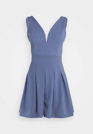 SIRI PLUNGE PLAYSUIT - Overall / Jumpsuit /Buksedragter - indigo blue