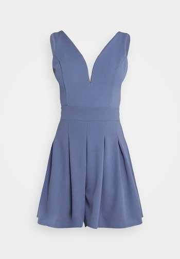 SIRI PLUNGE PLAYSUIT - Jumpsuit - indigo blue
