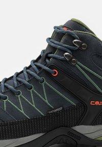 CMP - RIGEL MID TREKKING SHOES WP - Chaussures de marche - antracite/torba - 5