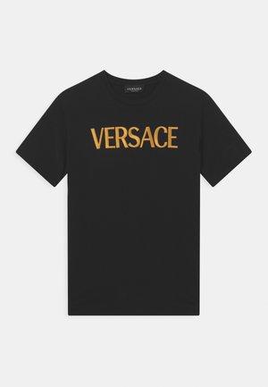 LOGO UNISEX - Print T-shirt - nero/oro