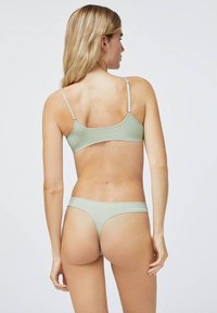 OYSHO - Triangle bra - green - 3