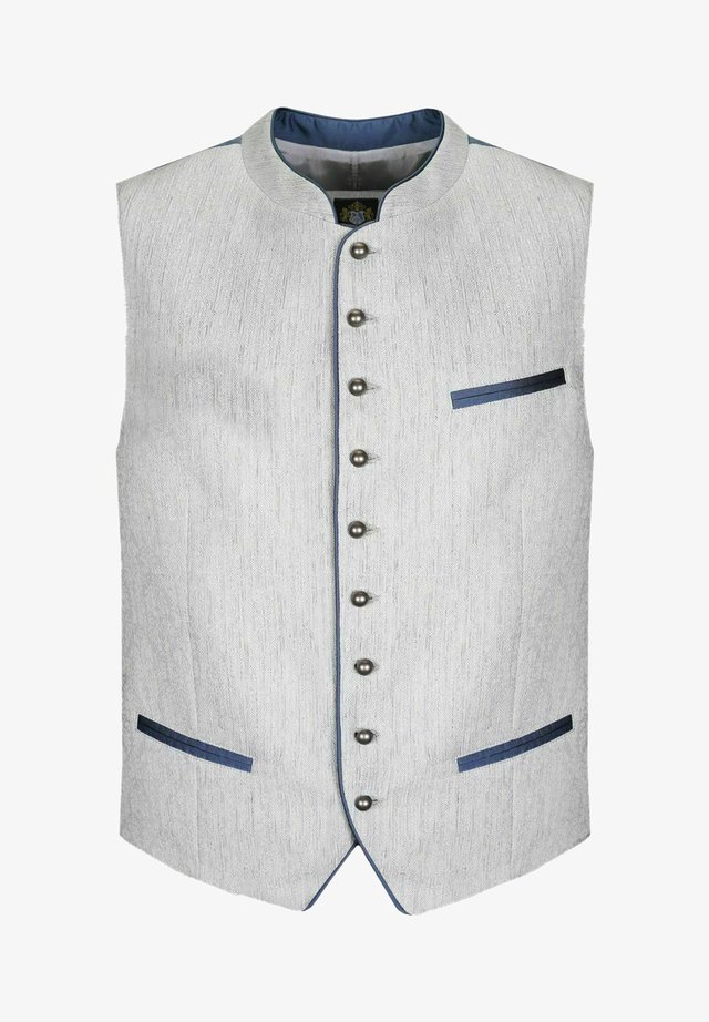 Suit waistcoat - grau