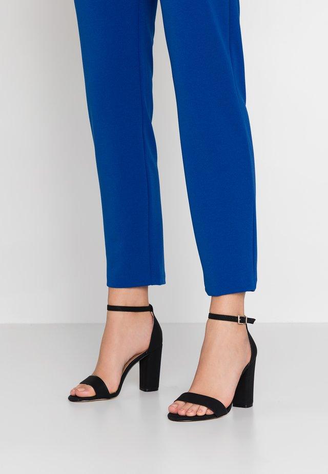 TAYVIA  - High heeled sandals - black