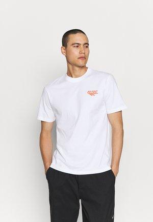 BIWOTT - Camiseta estampada - snow white