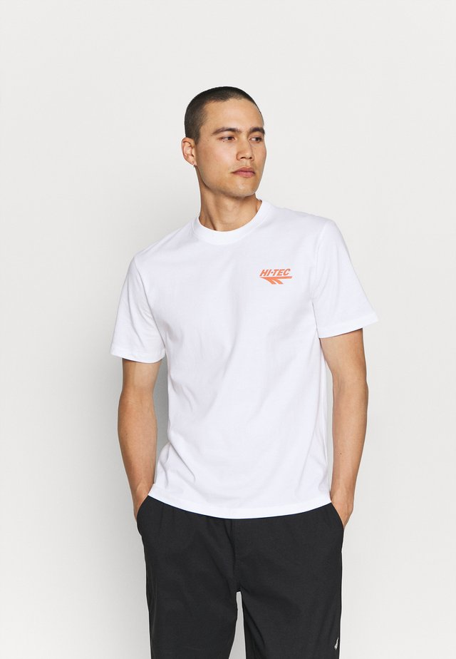 BIWOTT - T-shirt print - snow white