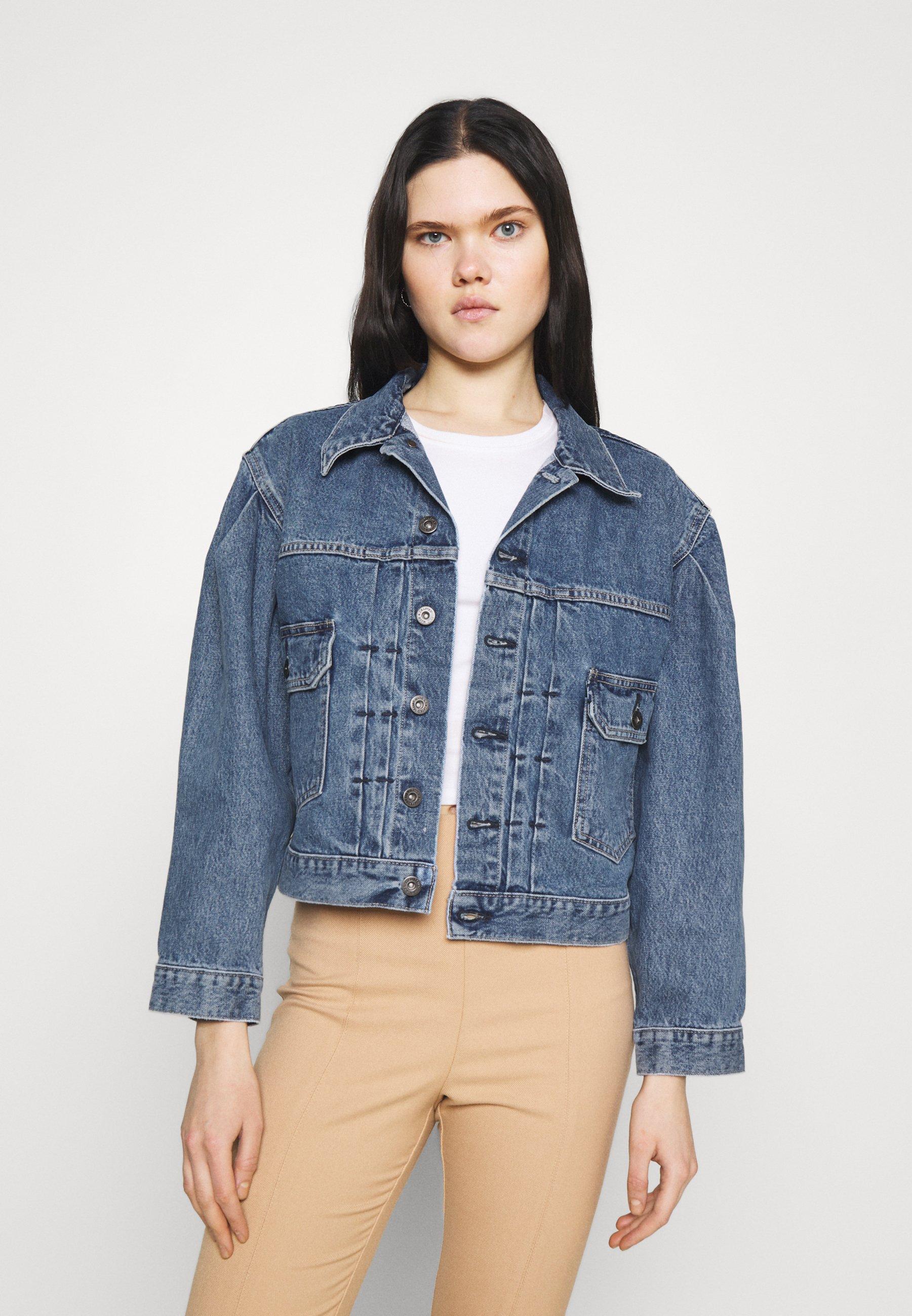Women SUNRAY TRUCKER - Denim jacket