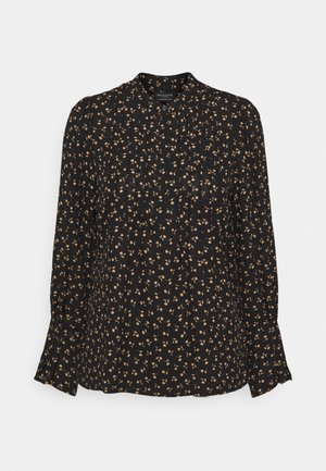 SLFLIVIA - Blouse - black/tigers eye