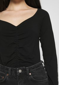 Monki - MONIKA - Topper langermet - black - 4