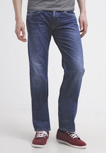 KINGSTON ZIP - Jeans straight leg - blue