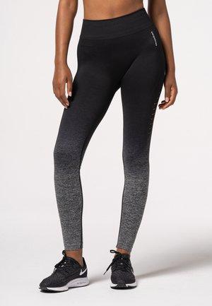 PHASE OMBRE  - Leggings - black