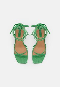 Topshop - RALLY MID ANKLE TIE - Sandalen - green - 5