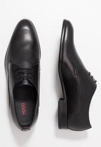 HUGO - APPEAL - Elegantní šněrovací boty - black - 1