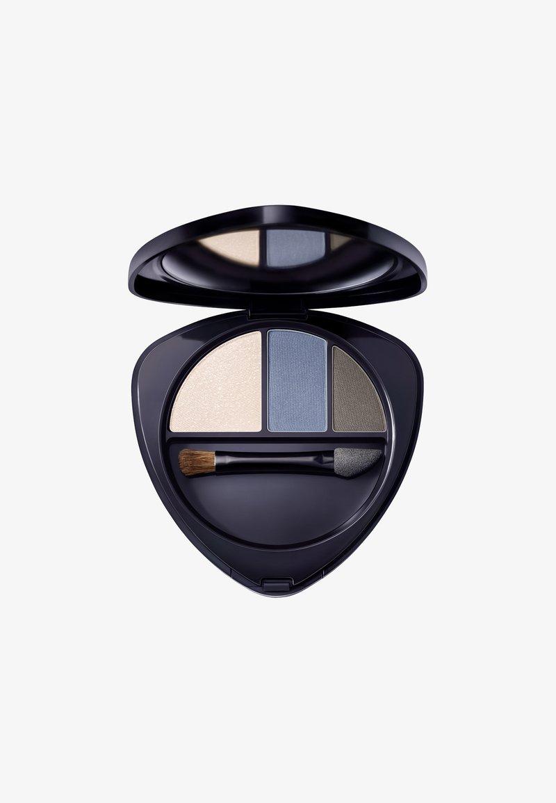 Dr. Hauschka - EYESHADOW TRIO - Eyeshadow palette - saphire
