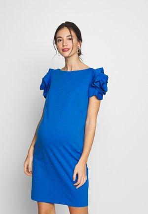 CAPRI - Shift dress - greek azure