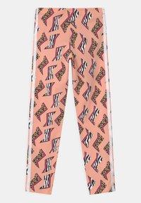 adidas Originals - ANIMAL PRINT  - Leggings - glow pink/multicolor/white - 1