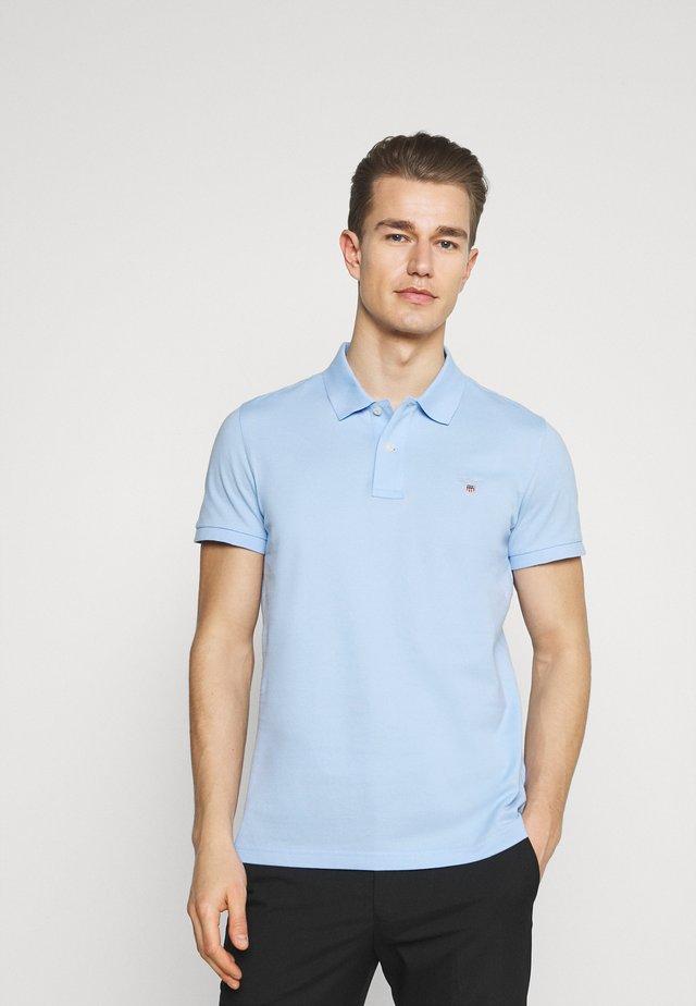 ORIGINAL SLIM RUGGER - Polo - capri blue