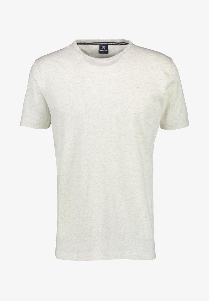 LERROS - Basic T-shirt - greyish white