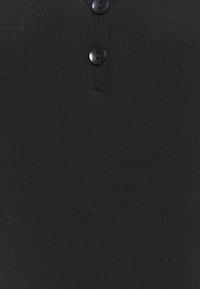 Trendyol - VIZON - Basic T-shirt - black - 2