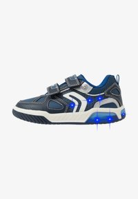 Geox - INEK BOY - Sneakersy niskie - navy/royal - 0