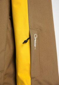 Haglöfs - LUMI JACKET - Ski jacket - pumpkin yellow/teak brown - 5