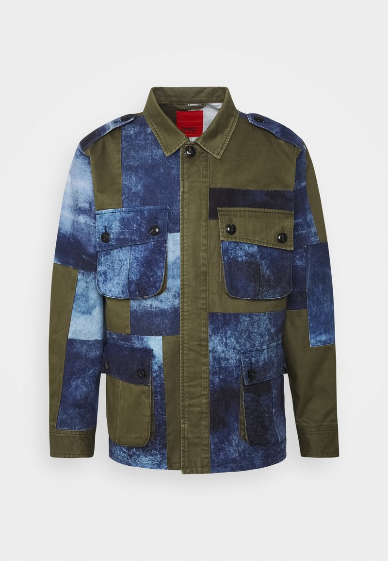 Denham - BELFIELD COMBAT  - Summer jacket - green