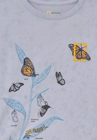 GAP - GIRLS NATIONAL GEOGRAPHIC - T-shirt print - blue
