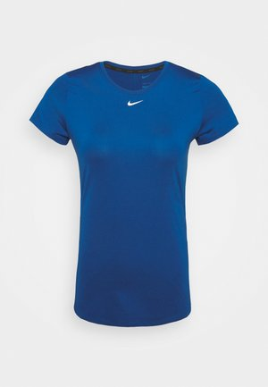 ONE SLIM - Basic T-shirt - court blue/white