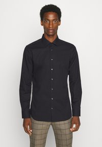Seidensticker - MODERN KENT X SLIM - Formal shirt - black - 0