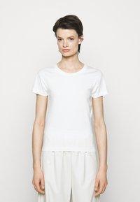 MM6 Maison Margiela - 3 PACK - Camiseta estampada - white/beige - 3