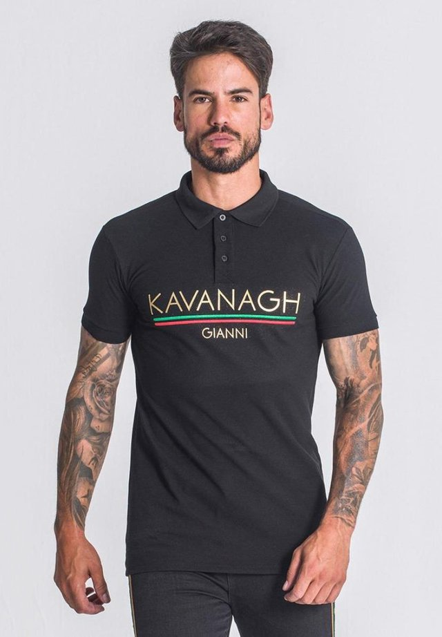 VALID NATION  - Poloshirt - black