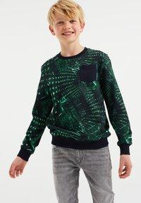 WE Fashion - MET DESSIN - Felpa - green - 1