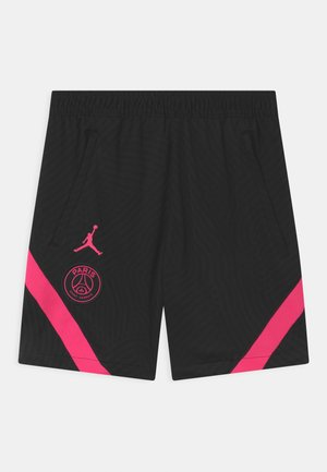 PARIS ST GERMAIN UNISEX - Sports shorts - black/hyper pink
