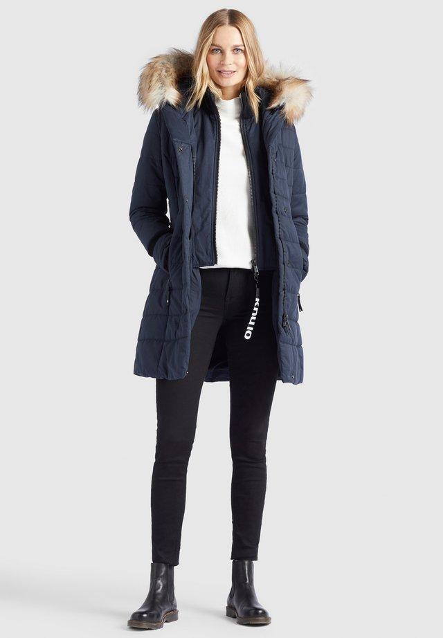 KUBRA - Płaszcz zimowy - dunkelblau