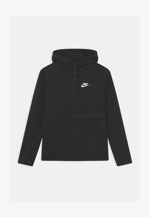 CLUB - Kapuzenpullover - black/white