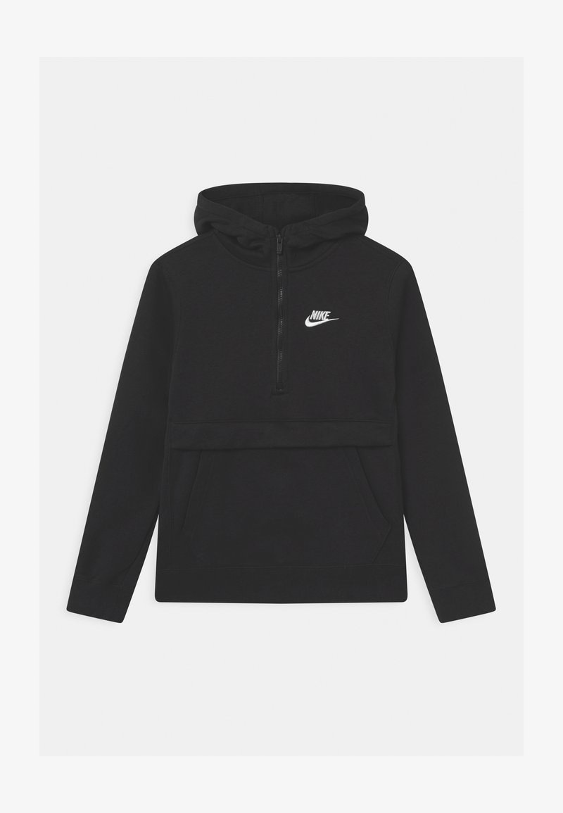 Nike Sportswear - CLUB - Sweat à capuche - black/white