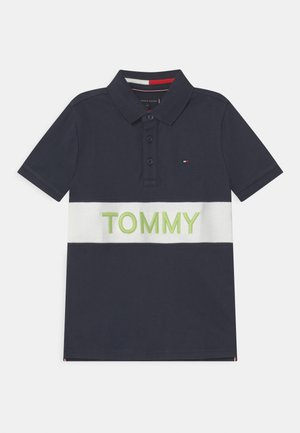 BLOCKING  - Polo shirt - twilight navy