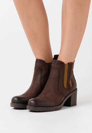 Ankle boots - mocca