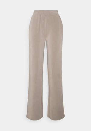 PCLISE WIDE PANT LOUNGE - Tracksuit bottoms - cinder
