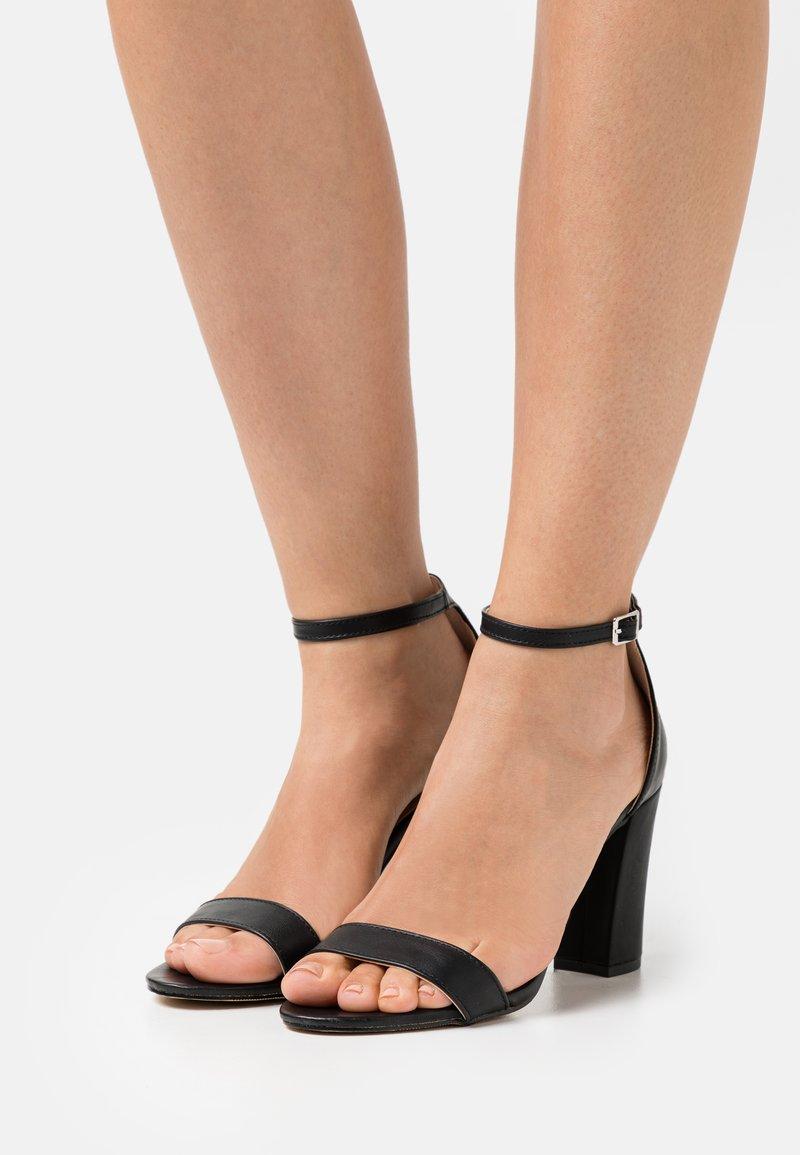Madden Girl - BEELLA - Højhælede sandaletter / Højhælede sandaler - black paris