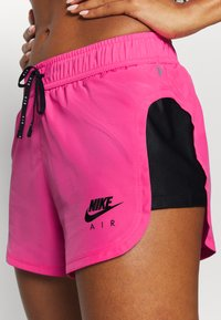 Nike Performance - AIR SHORT - Pantalón corto de deporte - pinksicle/black/black - 4