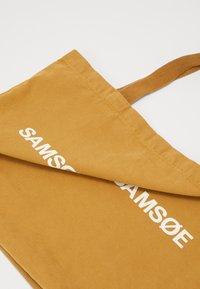 Samsøe Samsøe - FRINKA  - Tote bag - dijon - 4