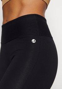 Deha - TIGHT PANTS - Tracksuit bottoms - black - 4